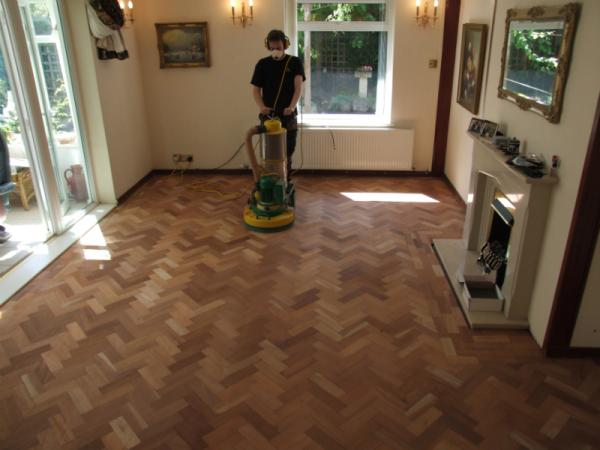 parquet floors - wood floor sanding chester, north wales